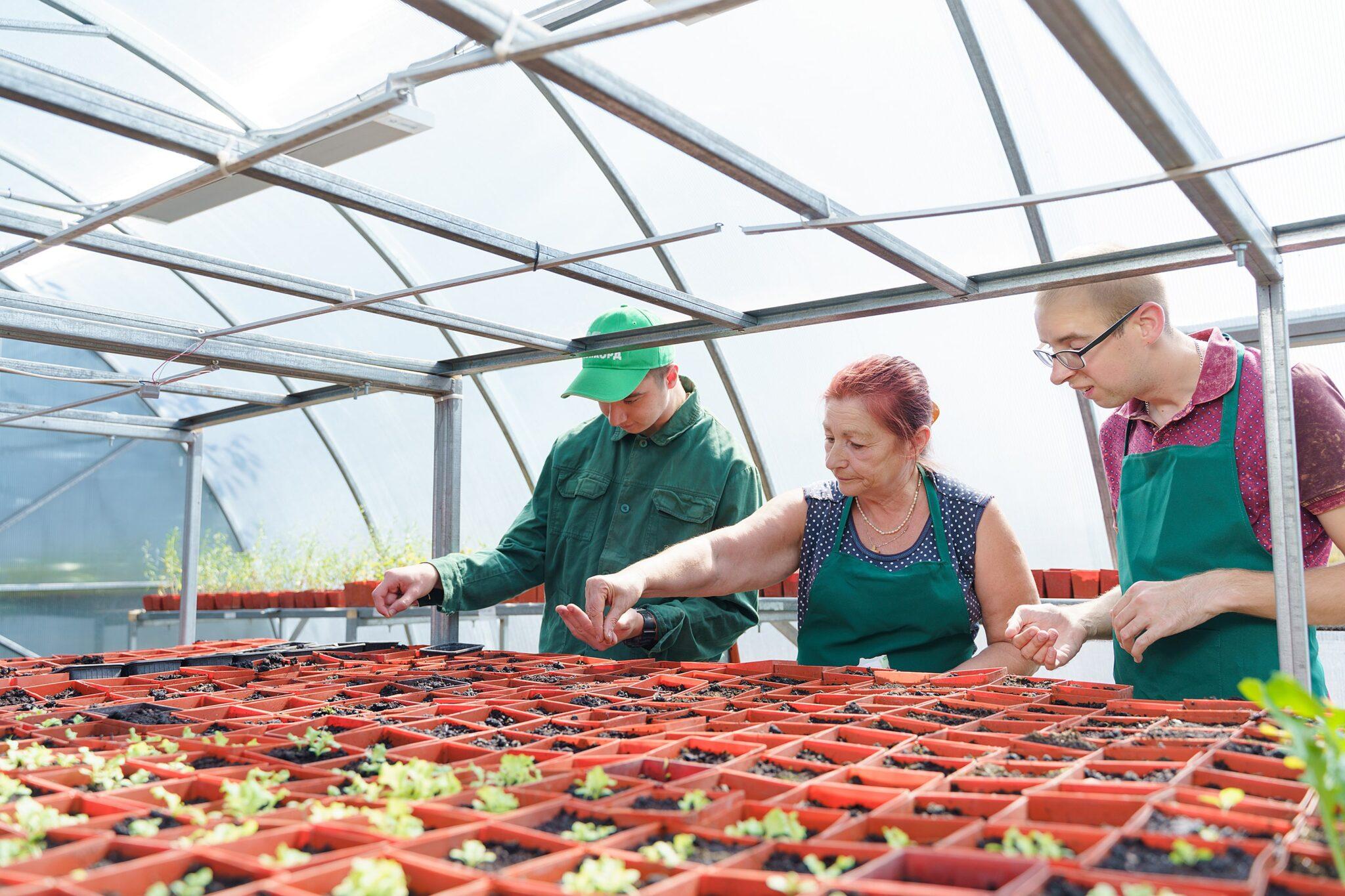 На власні очі: як догляд за овочами та квітами допомогає в соціалізації